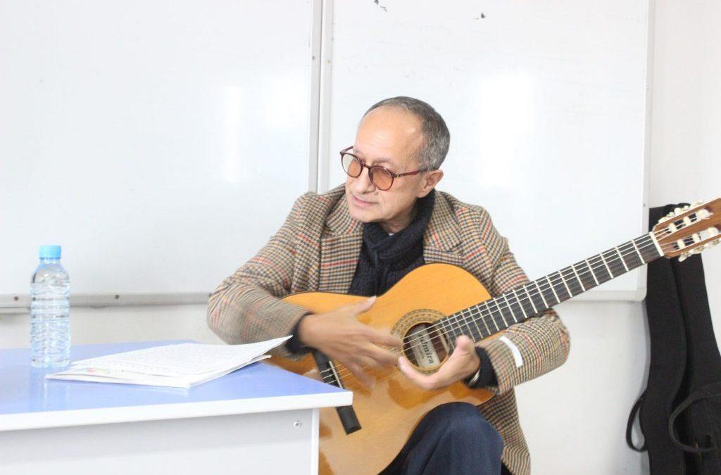 محاضرة حول التحليل السكلوجي للنغمة الموسيقية/ تقرير ذ. محمد ازعيطار