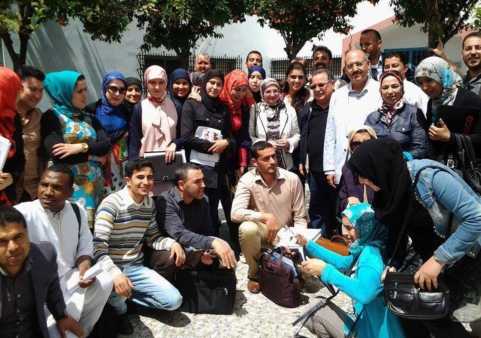 طلبة ماستر الأدب العربي في المغرب العلوي